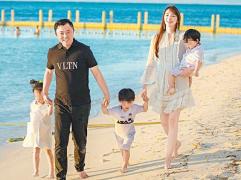 40岁吴佩慈宣布怀第四胎:下周满3个月,是女宝宝